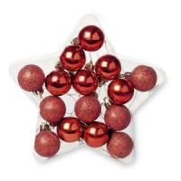 Новогодний набор ёлочных шариков