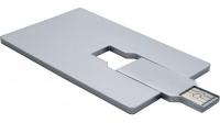 USB накопитель в форме кредитной карты