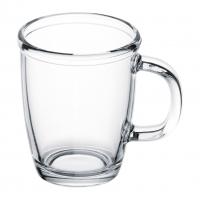 Чашка стеклянная